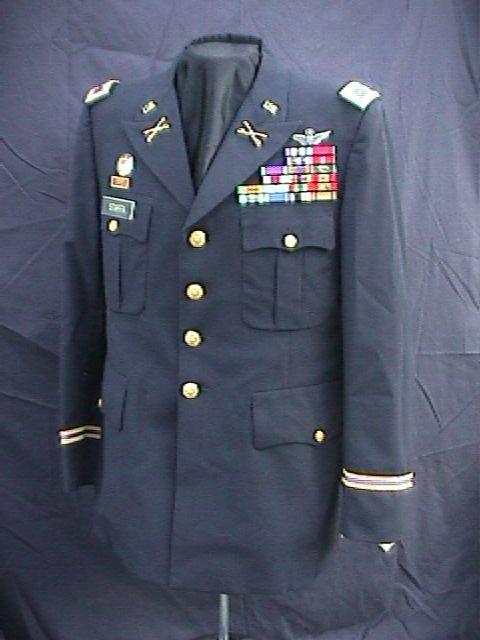 Military uniforms dress blues