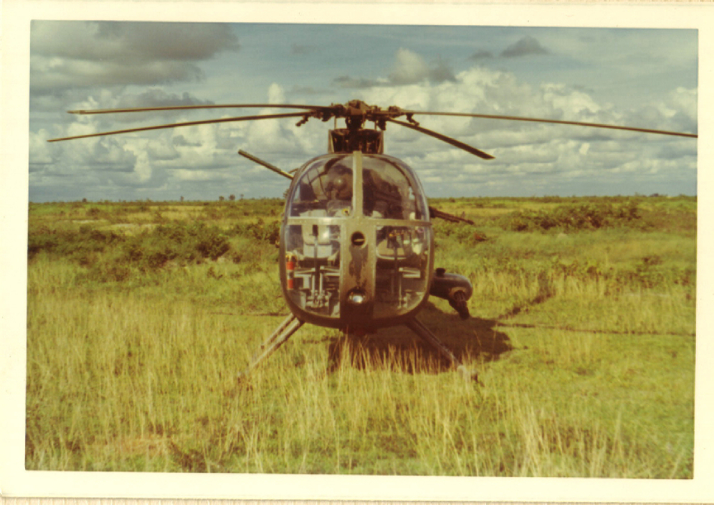 Vietnam Helicopter insignia and artifacts - Air Cavalry