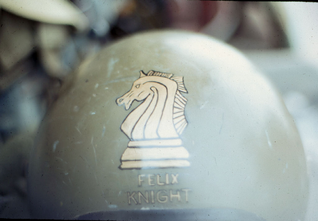 Vietnam Helicopter insignia and artifacts - Helmet Art