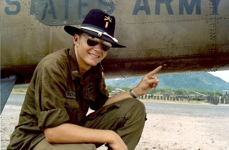 Vietnam Helicopter insignia and artifacts - Uniforms
